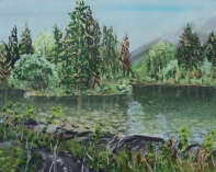 Kananaskis Pond