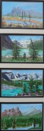 Memories of Western Canada 4, #17001, $295, Acrylic, Quad