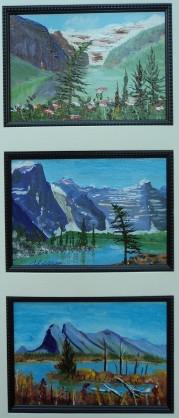 Memories of Western Canada 6, #17030, $295, Acrylic, Triplet