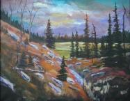 Autumn Splender, #17068, $750, Acrylic, 16x20