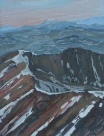 The Rockies, #14004, $250, Acrylic, 8x10