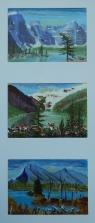 Memories of Western Canada7, #17031, $295, Acrylic, Triplet