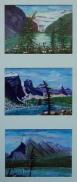 Memories of Western Canada8, #17047, $295, Acrylic, Triplet