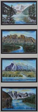 The Big Four, #15059, $295, Acrylic, Quad