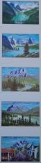 Memories of Western Canada, #18001, $295, Acrylic, Quin