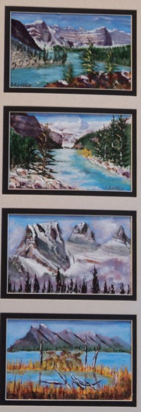 Memories of Western Canada, #17004, $295, Acrylic, Quad