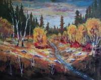 Autumn Glory, #18009, $750, Acrylic, 16x20