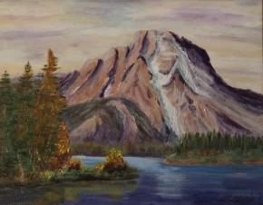 Magenta Majesty, #17018, $460, Acrylic, 11x14