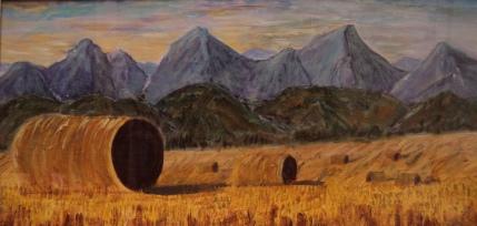 Heavenly Harvest, #17059, $700, Acrylic, 12x24