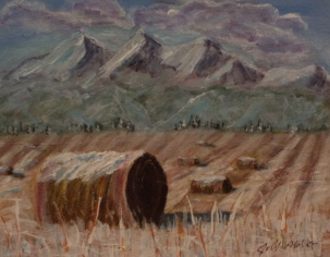 Late Harvest, #16065, $250, Acrylic, 8x10