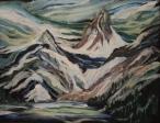 Wild Wilderness, #20003, $460, Acrylic, 11x14