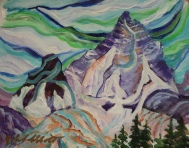 Mystic Mountain, #20006, Acrylic, 8x10