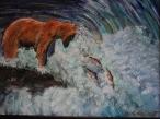 The Fisherman, #20005, $460, Acrylic, 11x14