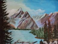 Rocky Mountain Spectacular, 21001, $460, Acrylic, 11x14